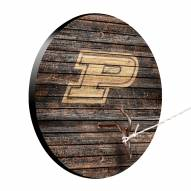 Purdue Boilermakers Weathered Design Hook & Ring Game