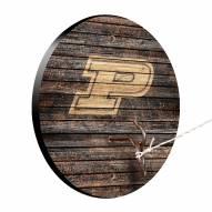 Purdue Boilermakers Weathered Design Hook & Ring Game