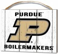 Purdue Boilermakers Weathered Logo Small Plaque
