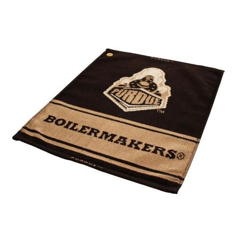 Purdue Boilermakers Woven Golf Towel