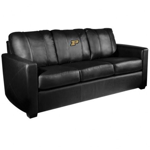 Purdue Boilermakers XZipit Silver Sofa