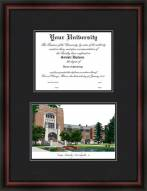 Purdue Boilermakers Diplomate Framed Lithograph with Diploma Opening
