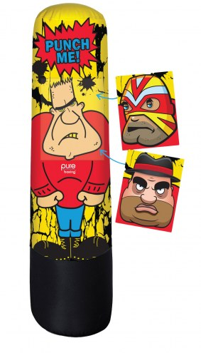 """Pure Boxing Bully Bag 56"""" Inflatable Punching Bag for Kids"""