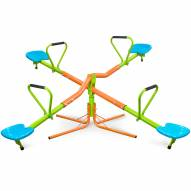 Pure Fun Kids 360-Degree Quad Swivel Seesaw, Indoor or Outdoor