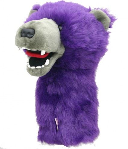 Purple Grizzly Bear Golf Club Headcover