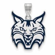 Quinnipiac Bobcats Sterling Silver Large Pendant