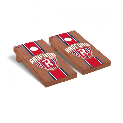 Radford Highlanders Rosewood Stained Stripe Cornhole Game Set