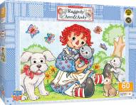 Raggedy Ann & Andy Best Friends 60 Piece Puzzle
