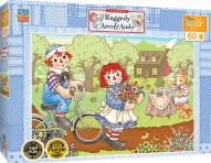 Raggedy Ann & Andy Bike Ride 60 Piece Puzzle