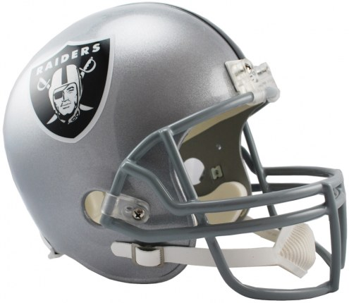 Riddell Oakland Raiders Deluxe Collectible NFL Football Helmet