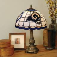 St. Louis Rams NFL Stained Glass Table Lamp