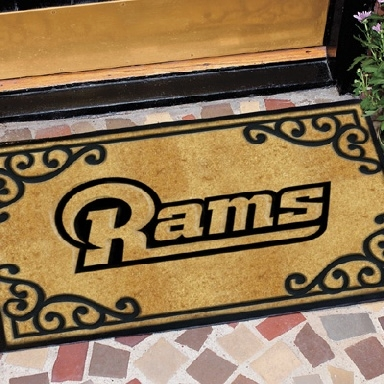 St. Louis Rams NFL Door Mat