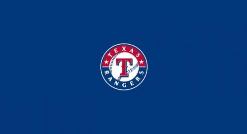 Texas Rangers MLB Team Logo Billiard Cloth