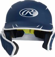 Rawlings Mach Junior 2-Tone Right Flap Baseball Batting Helmet - Left Handed Batter