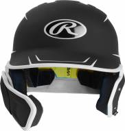 Rawlings Mach Senior 2-Tone Right Flap Baseball Batting Helmet - Left Handed Batter