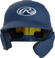 Rawlings Mach Senior One-Tone Left Flap Baseball Batting Helmet - Right Handed Batter
