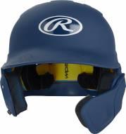 Rawlings Mach Senior 1 Tone Left Flap Baseball Batting Helmet - Right Handed Batter