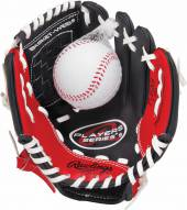 "Rawlings Players Series 9"" Youth Tee Ball Glove with Ball - Left Hand Throw"