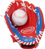 "Rawlings Players Series 9"" Youth Tee Ball Glove with Ball - Right Hand Throw"