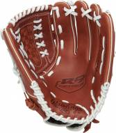 """Rawlings R9 Series 12.5"""" Pitcher/Outfield Fastpitch Softball Glove - Left Hand Throw"""
