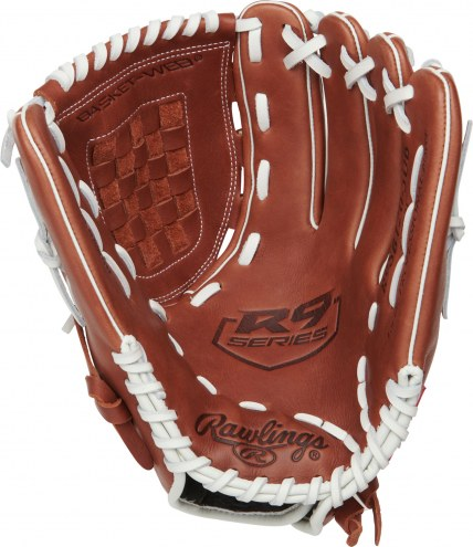 """Rawlings R9 Series 12"""" Pitcher/Infield Fastpitch Softball Glove - Left Hand Throw"""
