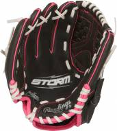 """Rawlings Storm 10"""" Inverted Y Basket Fastpitch Softball Glove - Left Hand Throw"""