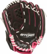"""Rawlings Storm 10.5"""" Inverted Y Basket Fastpitch Softball Glove - Right Hand Throw"""
