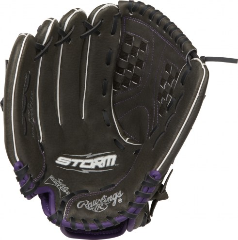 """Rawlings Storm 12"""" Outfield Fastpitch Softball Glove - Left Hand Throw"""