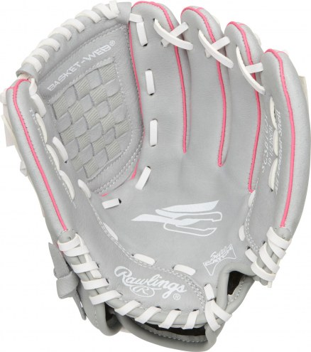 "Rawlings Sure Catch 10.5"" Youth Fastpitch Softball Glove - Left Hand Throw"