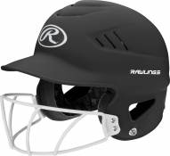 Rawlings COOLFLO Series Softball Batting Helmet with Face Guard