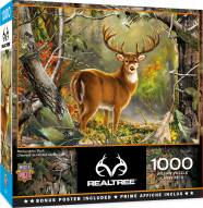 RealTree Backcountry Buck 1000 Piece Puzzle