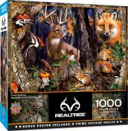 RealTree Forest Gathering 1000 Piece Puzzle