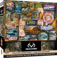 RealTree Off to the Lakehouse 1000 Piece Puzzle