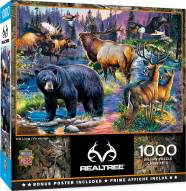 RealTree Wild Living 1000 Piece Puzzle