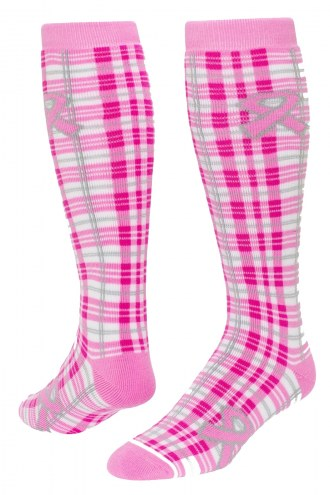 Red Lion Adult Awareness Plaid Socks
