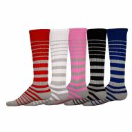Red Lion Adult Silver Streak Socks - Sock Size 9-13