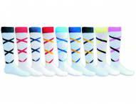 Red Lion Criss Cross Adult Socks - Sock Size 9-11