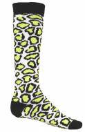 Red Lion Leopard Print Adult Socks - Sock Size 9-11
