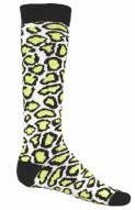 Red Lion Leopard Print Adult Socks - Sock Size 9-11