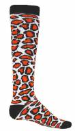 Red Lion Leopard Print Youth Socks - Sock Size 6-8.5