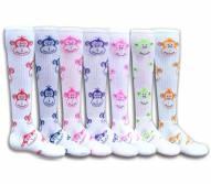 Red Lion Monkey Face Youth Socks - Sock Size 6-8.5