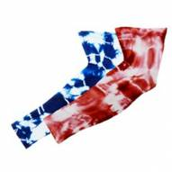 Red Lion Tie Dyed Youth Compression Arm Sleeve
