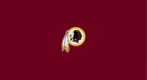 Washington Redskins NFL Team Logo Billiard Cloth