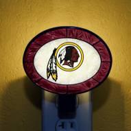 Washington Redskins NFL Stained Glass Night Light