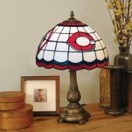 Cincinnati Reds MLB Stained Glass Table Lamp