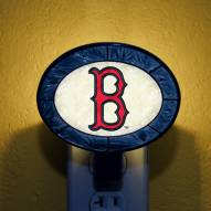 Boston Red Sox MLB Stained Glass Night Light
