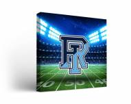 Rhode Island Rams Stadium Canvas Wall Art