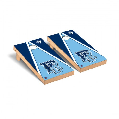 Rhode Island Rams Triangle Cornhole Game Set