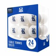 Rice Owls 24 Count Ping Pong Balls