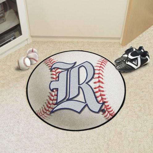Rice Owls Baseball Rug